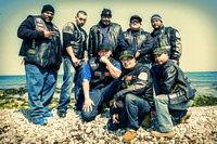 2014-04-12 Long Island Punisherz M.C. at Montauk Lighthouse