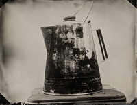 4x5 Old Kettle tintype